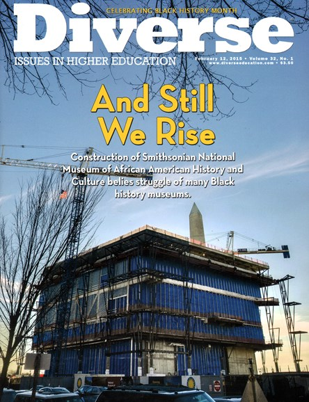 Diverse: Issues In Higher Education Cover - 2/12/2015