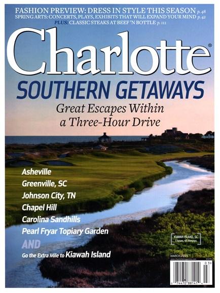 Charlotte Magazine Cover - 3/1/2015