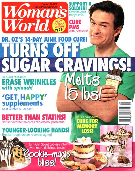 Woman's World Cover - 2/23/2015