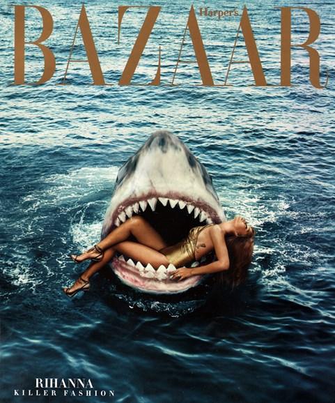 Harper's Bazaar Cover - 3/1/2015