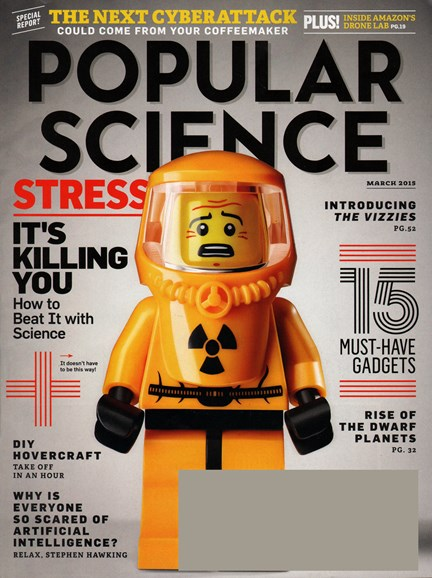 Popular Science Cover - 3/1/2015