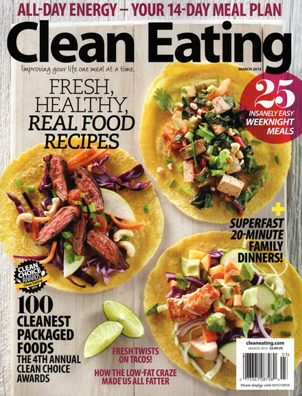Clean Eating Cover - 3/1/2015