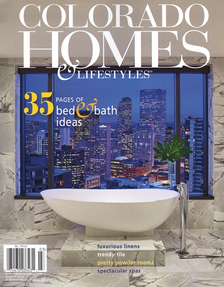 Colorado Homes & Lifestyles Cover - 3/1/2015