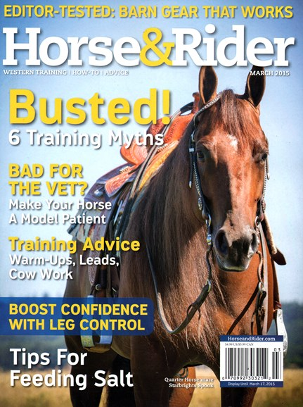 Horse & Rider Cover - 3/1/2015