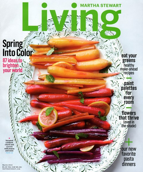 Martha Stewart Living Cover - 3/1/2015