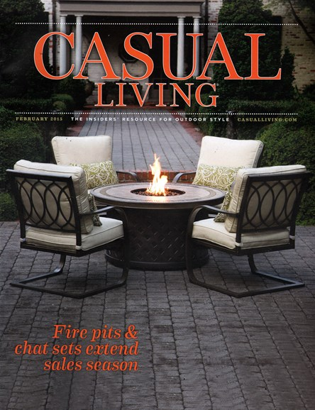 Casual Living Cover - 2/1/2015