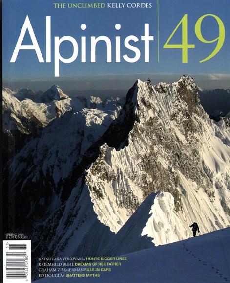 Alpinist Cover - 3/1/2015
