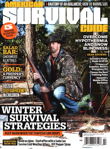 American Survival Guide Cover - 3/1/2015