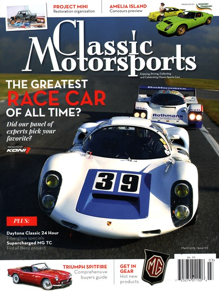 Classic Motorsports Cover - 3/1/2015