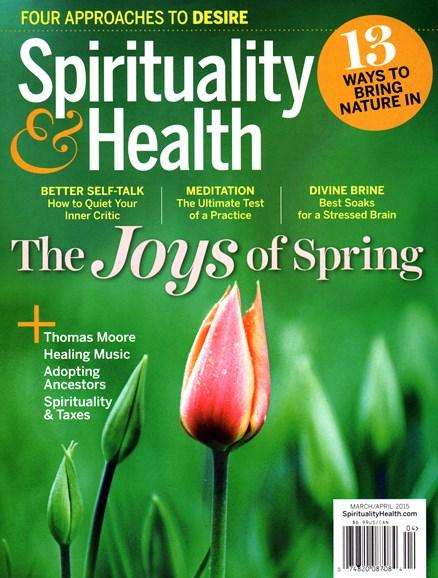 Spirituality & Health Cover - 3/1/2015
