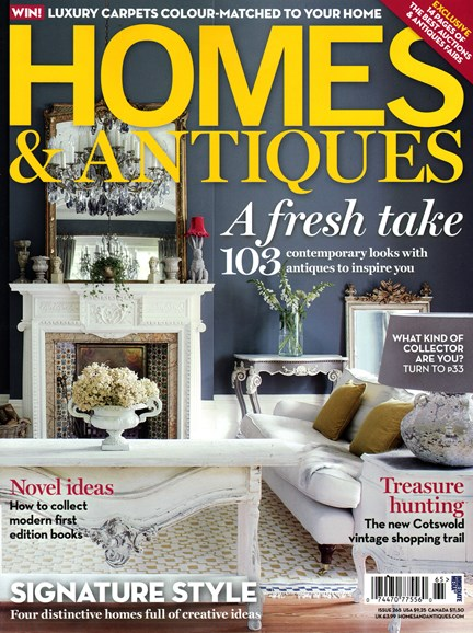 Homes & Antiques Cover - 2/1/2015