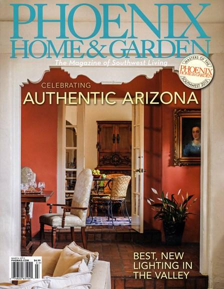 Phoenix Home & Garden Cover - 3/1/2015