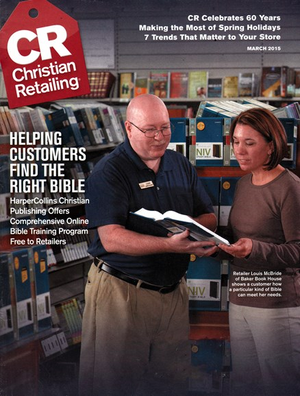 Christian Retailing Cover - 3/1/2015