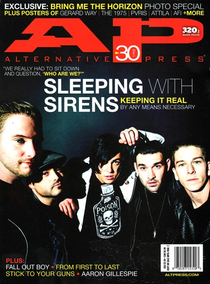 Alternative Press Cover - 3/1/2015