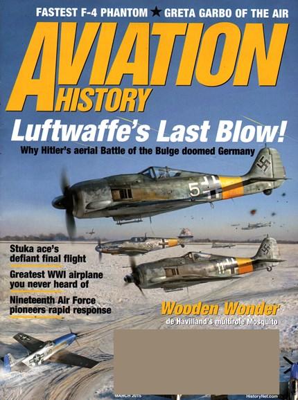 Aviation History Cover - 3/1/2015