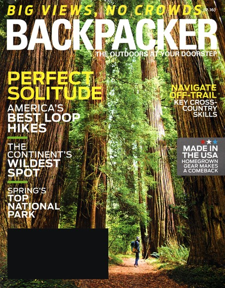 Backpacker Cover - 3/1/2015