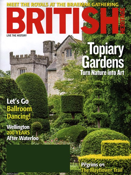 British Heritage Travel Cover - 3/1/2015