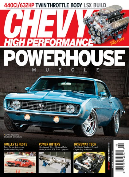 Chevy High Performance Cover - 3/1/2015