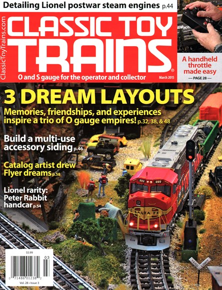 Classic Toy Trains Cover - 3/1/2015