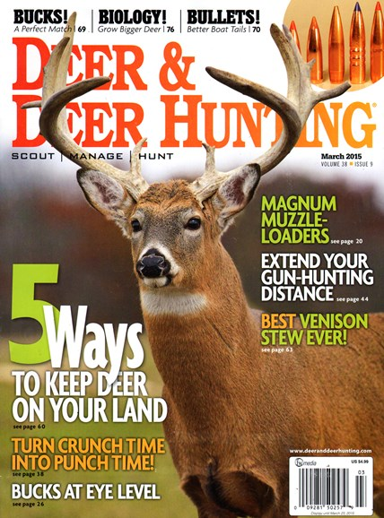 Deer & Deer Hunting Cover - 3/1/2015
