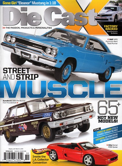 Diecast X Cover - 3/1/2015