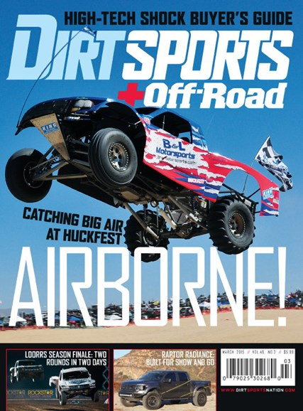 Dirt Sports & Off-Road Cover - 3/1/2015