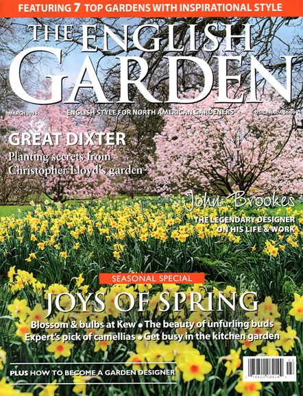 The English Garden Cover - 3/1/2015