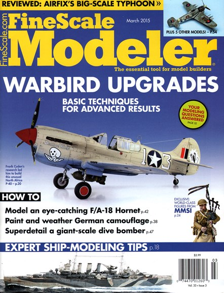 Finescale Modeler Cover - 3/1/2015