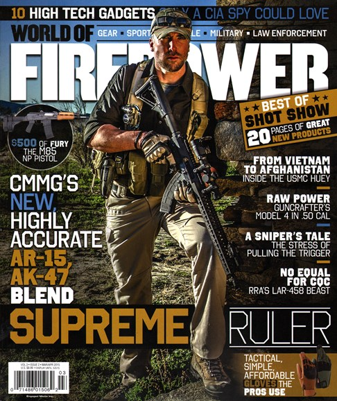 World of Firepower Cover - 3/1/2015
