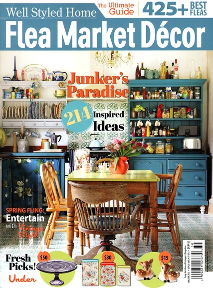 Flea Market Décor Cover - 3/1/2015
