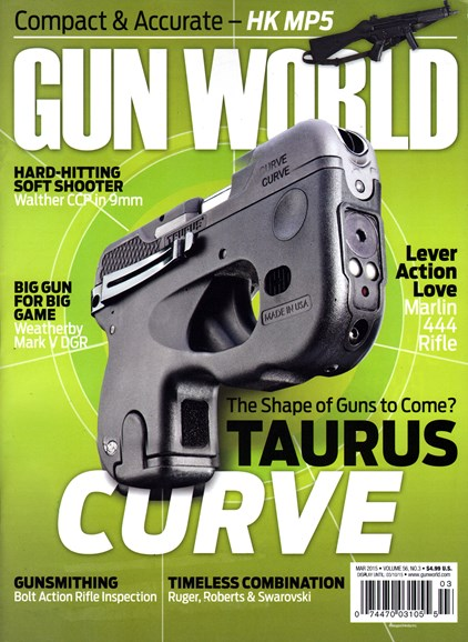 Gun World Cover - 3/1/2015