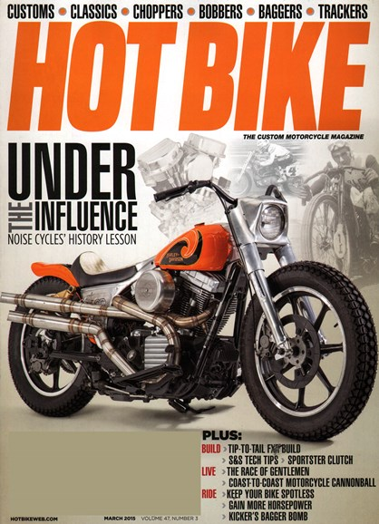 Hot Bike Cover - 3/1/2015
