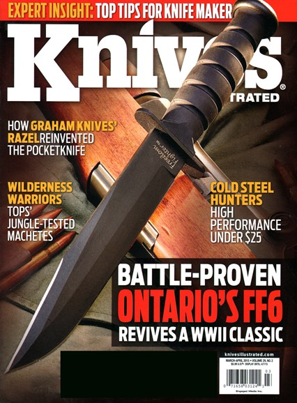 Knives Illustrated Cover - 3/1/2015