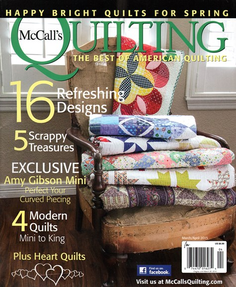 McCall's Quilting Cover - 3/1/2015