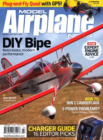 Model Airplane News Cover - 3/1/2015
