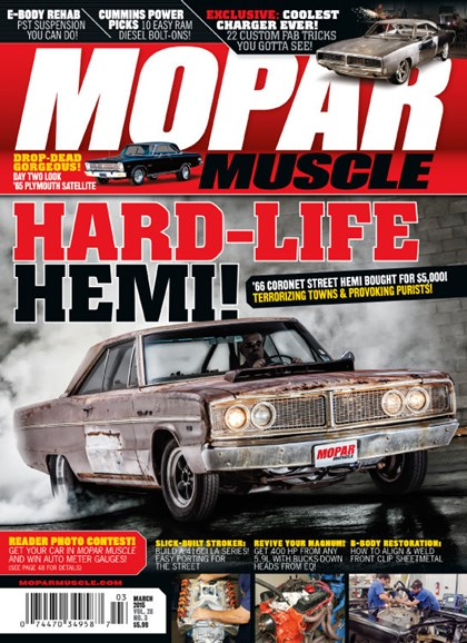 Mopar Muscle Cover - 3/1/2015