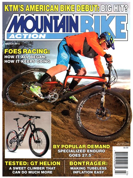 Mountain Bike Action Cover - 3/1/2015