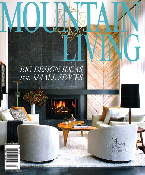 Mountain Living Cover - 3/1/2015