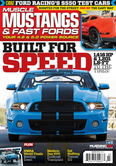 Muscle Mustangs & Fast Fords Cover - 3/1/2015