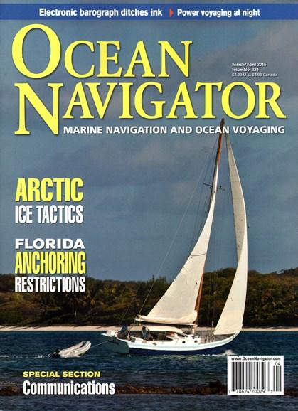 Ocean Navigator Cover - 3/1/2015