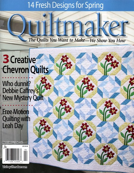 Quiltmaker Cover - 3/1/2015