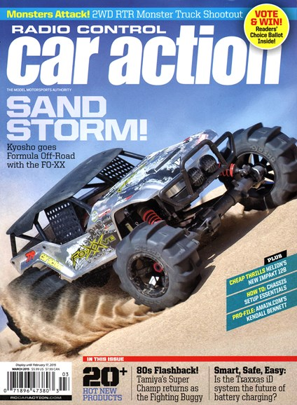 Radio Control Car Action Cover - 3/1/2015