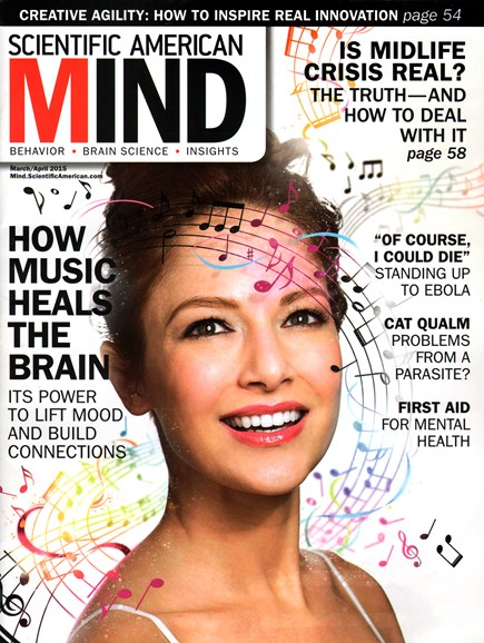 Scientific American Mind Cover - 3/1/2015
