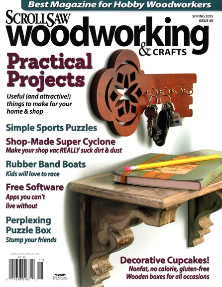 Scroll Saw Woodworking & Crafts Cover - 3/1/2015