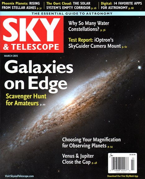 Sky & Telescope Cover - 3/1/2015