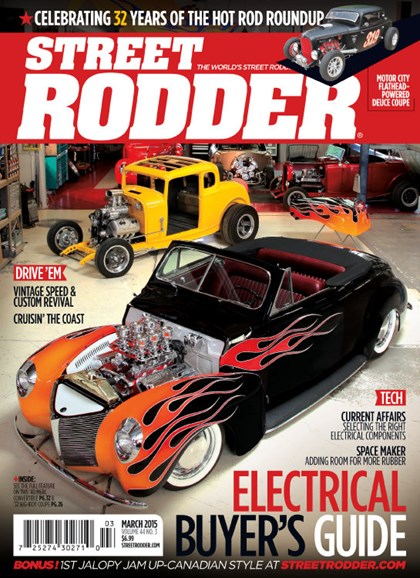 Street Rodder Cover - 3/1/2015