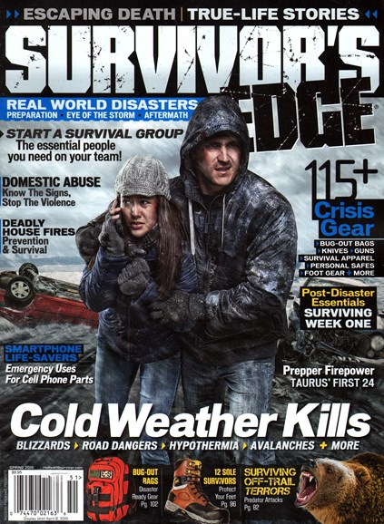 Survivor's Edge Cover - 3/1/2015