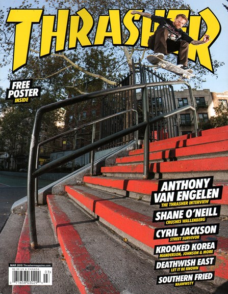 Thrasher Cover - 3/1/2015