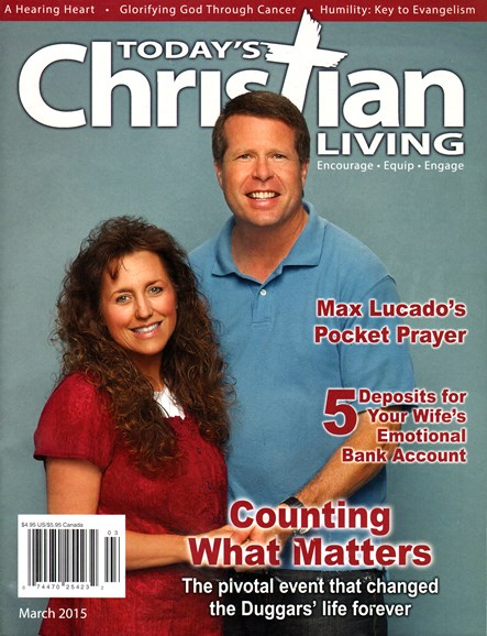 Today's Christian Living Cover - 3/1/2015