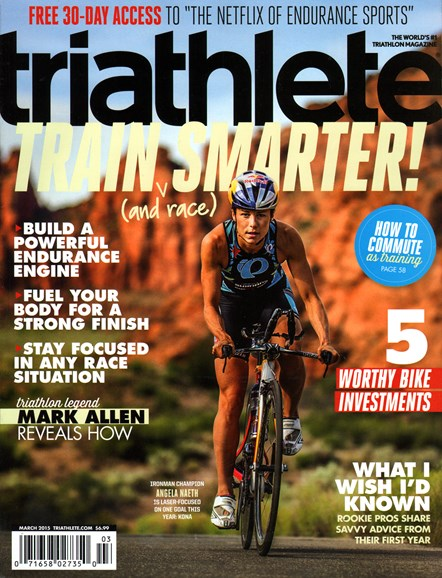 Triathlete Cover - 3/1/2015
